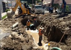 Se restablece el suministro de agua potable en colonias afectadas