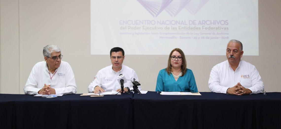 Será Sonora sede del Encuentro Nacional de Archivos