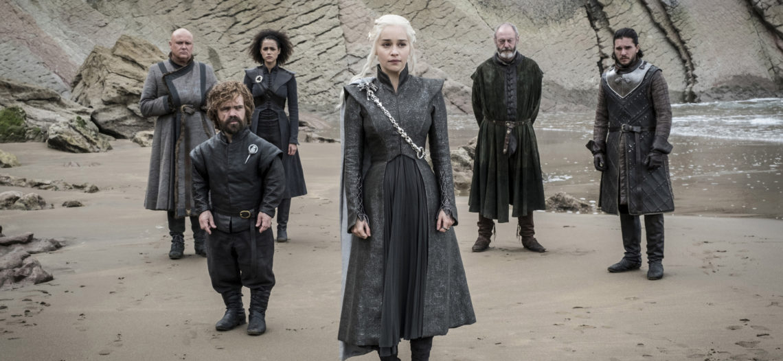 Emilia Clarke dice adiós a su 'familia' en 'Game of Thrones'
