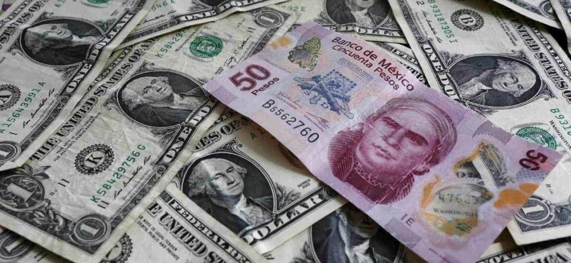 Alcanza el dólar los $19.24 en el aeropuerto de la CDMX