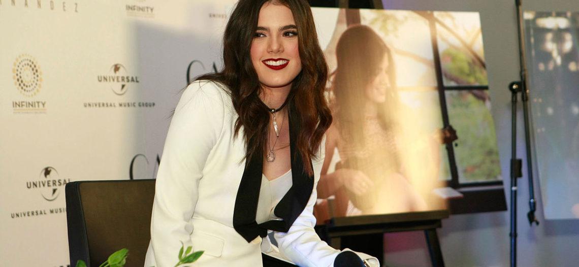 Camila Fernández lanza su primer disco titulado 'Mío'