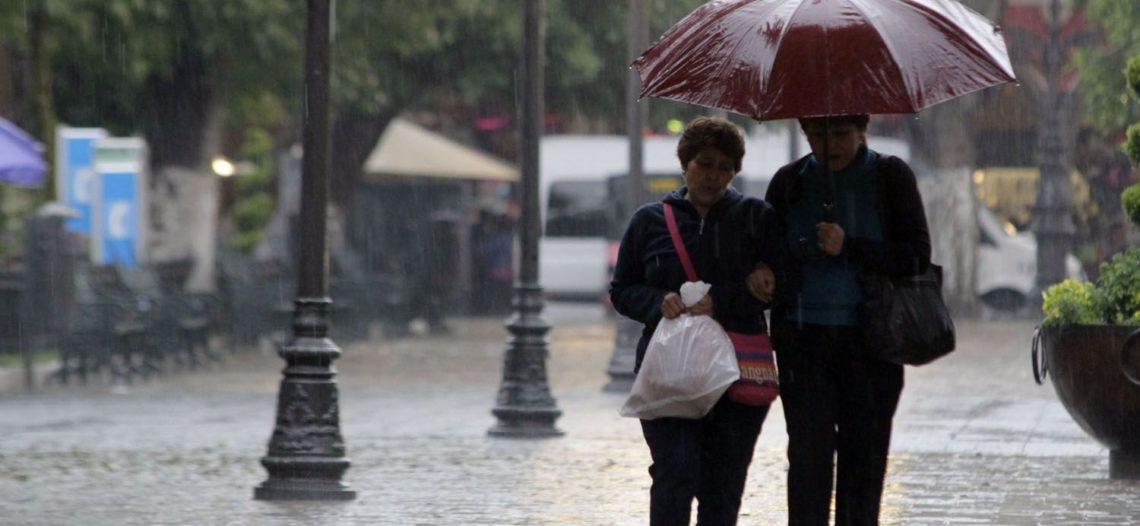 Afectarán al noroeste del país las fuertes lluvias este jueves