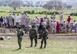 Suman 114 los fallecidos en Tlahuelilpan