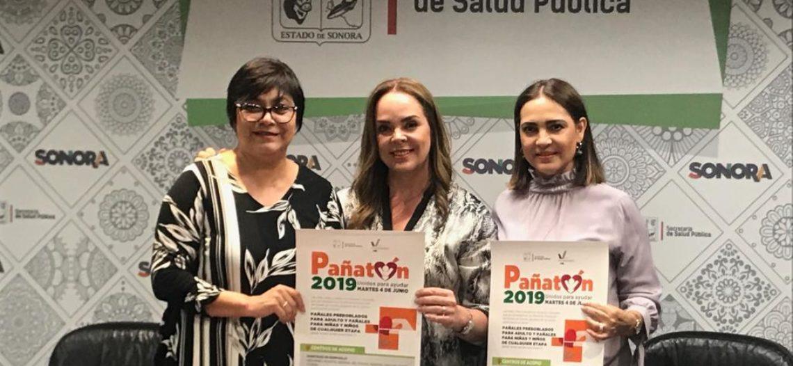 Invita Voluntariado de Salud Sonora a participar en el Pañatón 2019