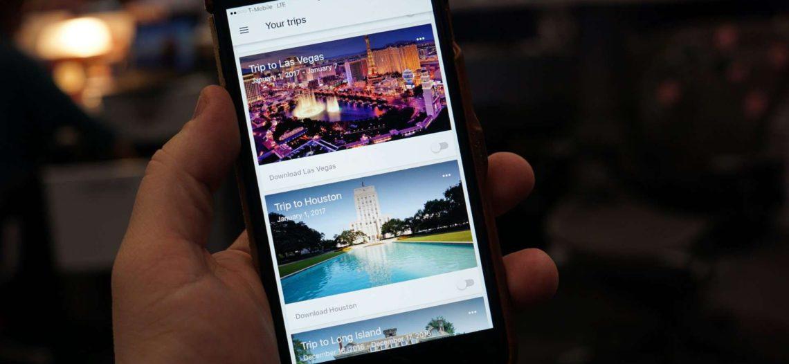 Google Trips dejará de dar servicio en agosto