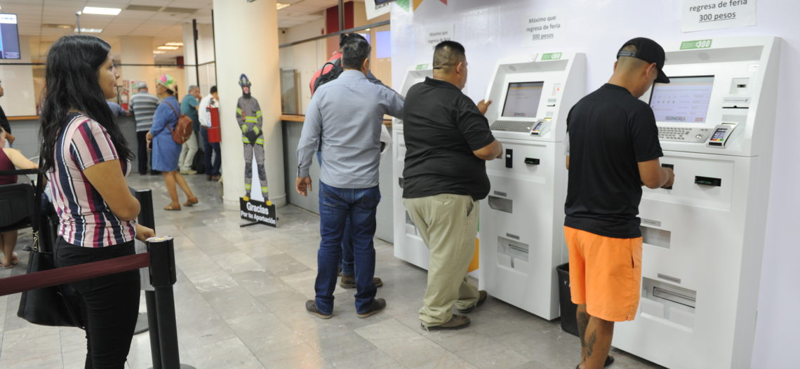 Se instalaron ya 29 cajeros automáticos en las Agencias Fiscales