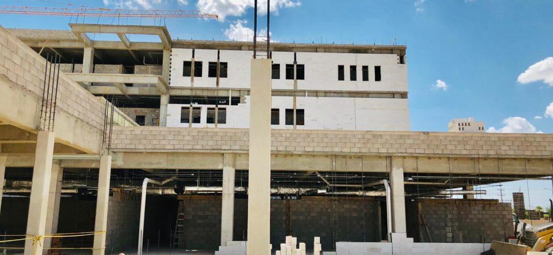 Supervisan construcción del nuevo Hospital General