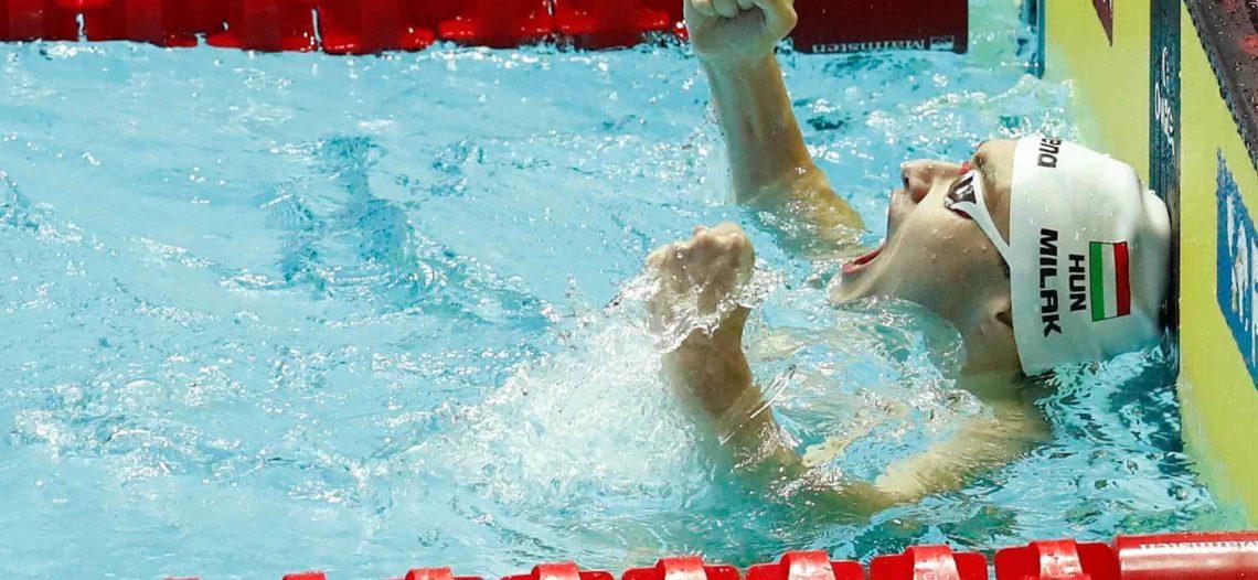 Kristof Milak pulveriza récord de Michael Phelps