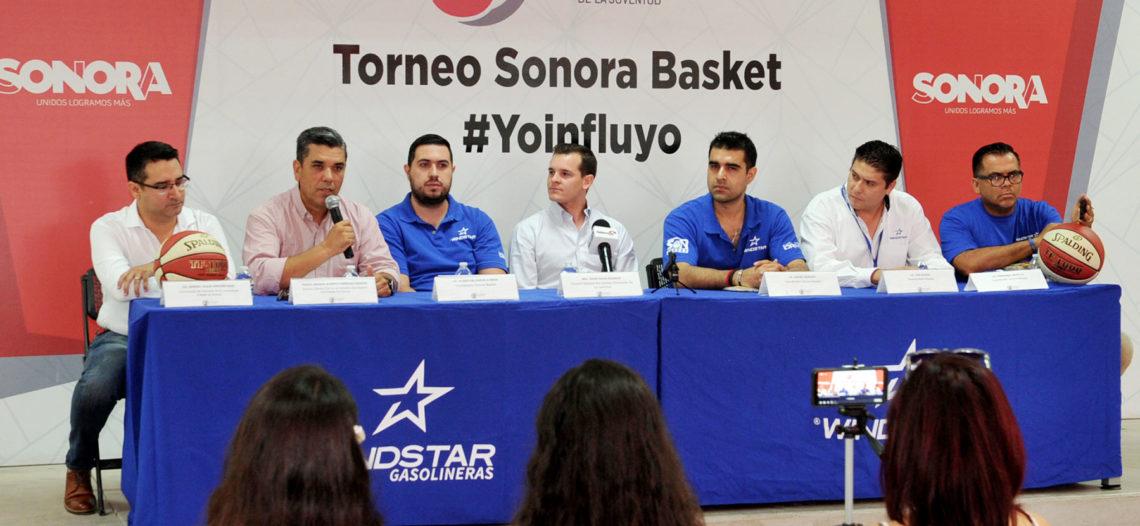"""Anuncian ISJuventud y Codeson, Torneo """"Sonora Basket – Yo Influyo"""""""