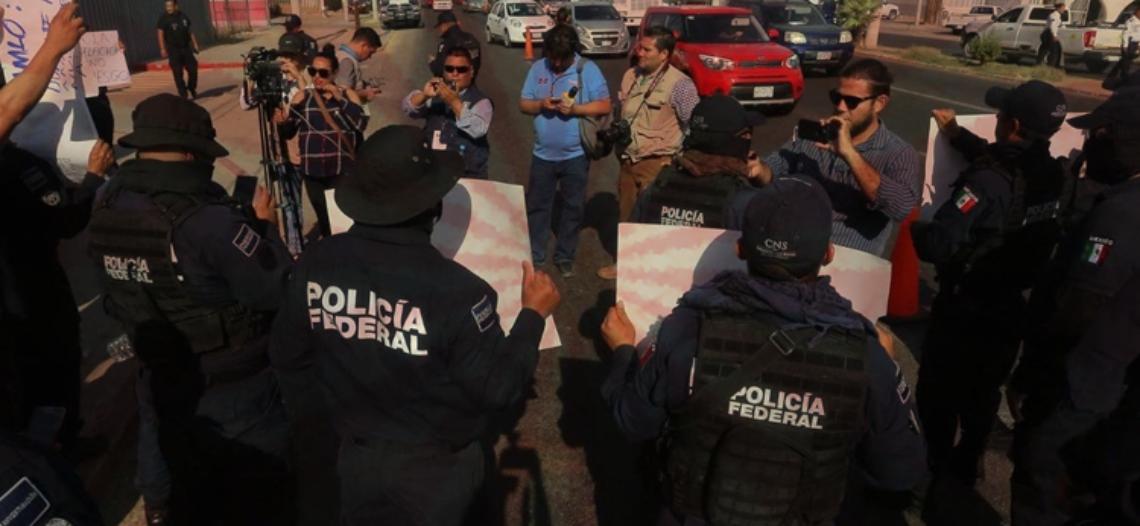 Policía Federal y Gendarmería contra Guardia Nacional