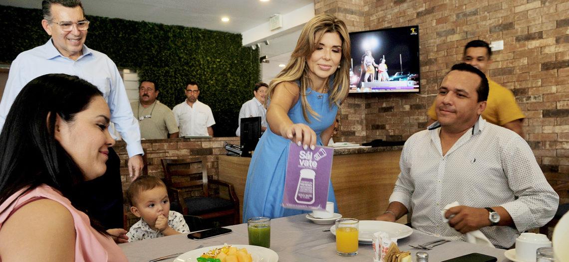 """Pone en marcha Gobernadora «Menos Sal, Más Vida""""»"""