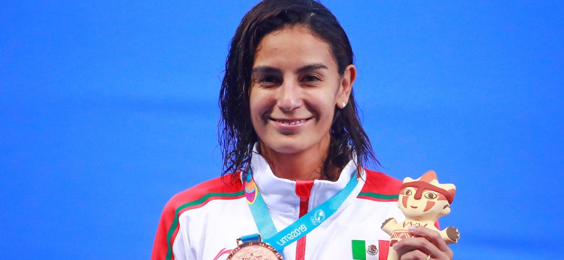 Paola Espinosa consigue su medalla número 15