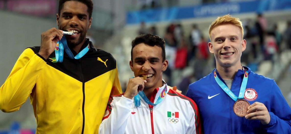 Juan Celaya tiene debut dorado en Panamericanos