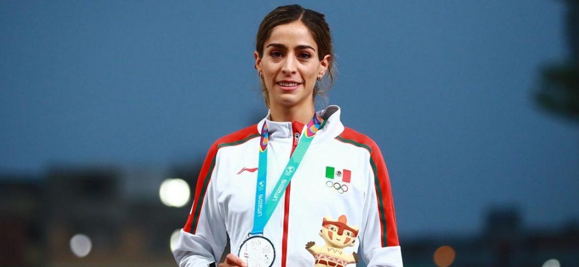 Paola Morán se cuelga plata y establece récord personal