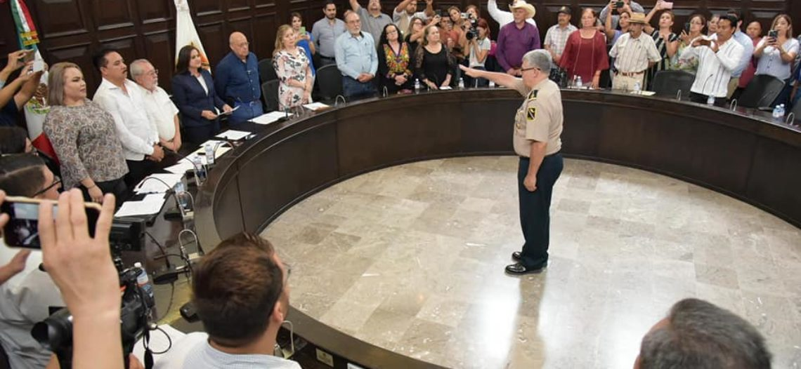 Rinde protesta nuevo comisario de Seguridad Pública