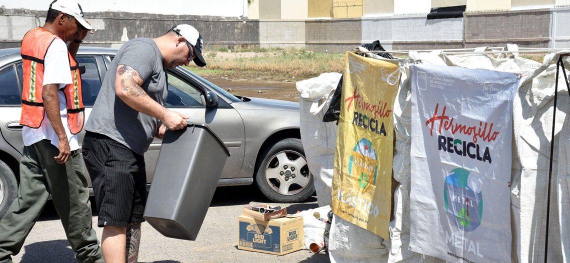 Rompen Reciclacentros récord de materiales recolectados
