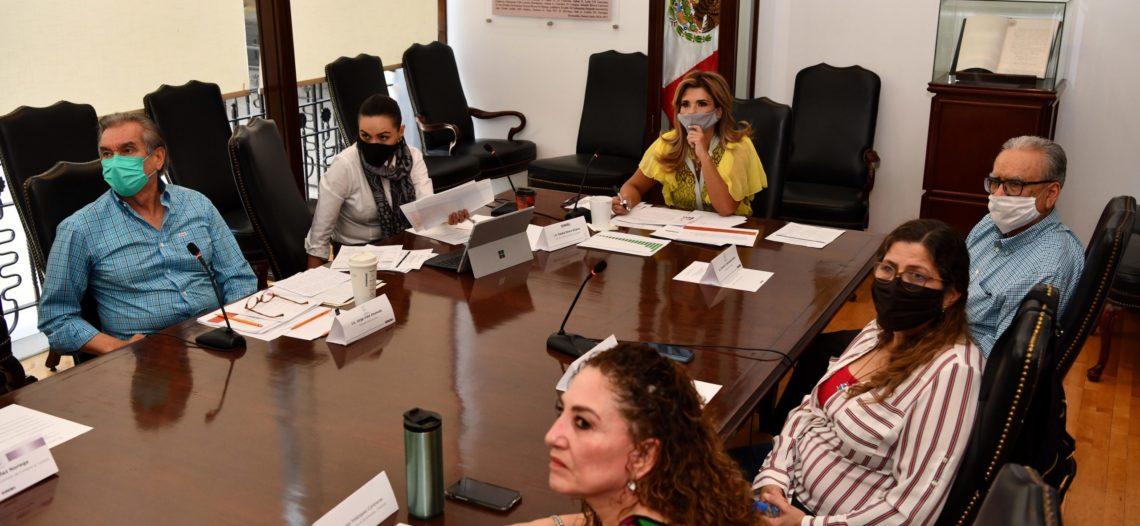 Evalúa Gobernadora avance en el diseño del Plan de Reactivación Económica 20-21