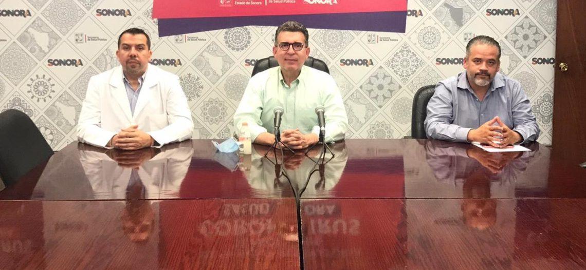 Confirma Secretaría de Salud nueve casos más de Covid-19 en Sonora