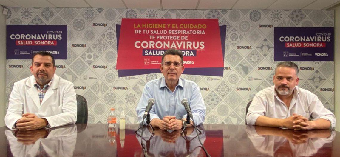 Confirma Secretaría de Salud 14 nuevos casos de Covid-19 en Sonora