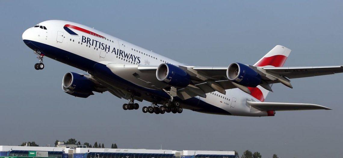 British Airways anuncia recorte de 12 mil empleos por pandemia