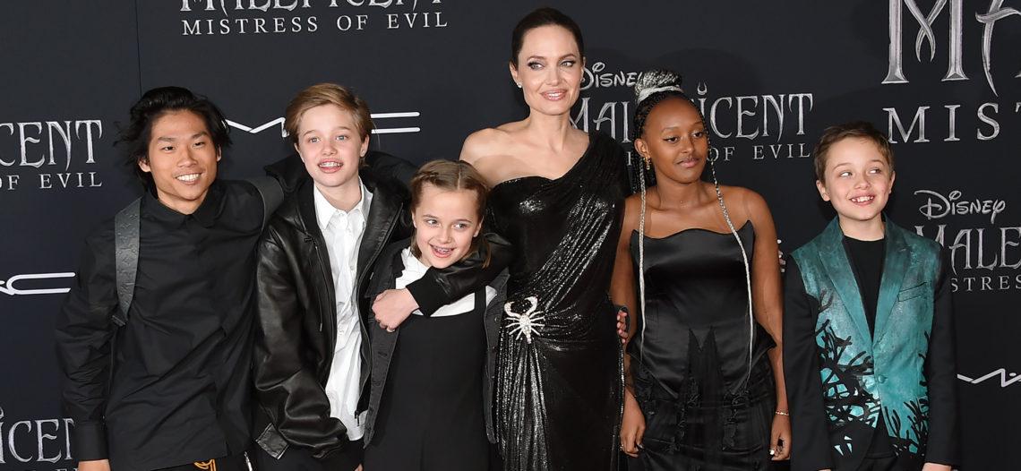 Angelina Jolie habla de las dificultades de la maternidad en cuarentena