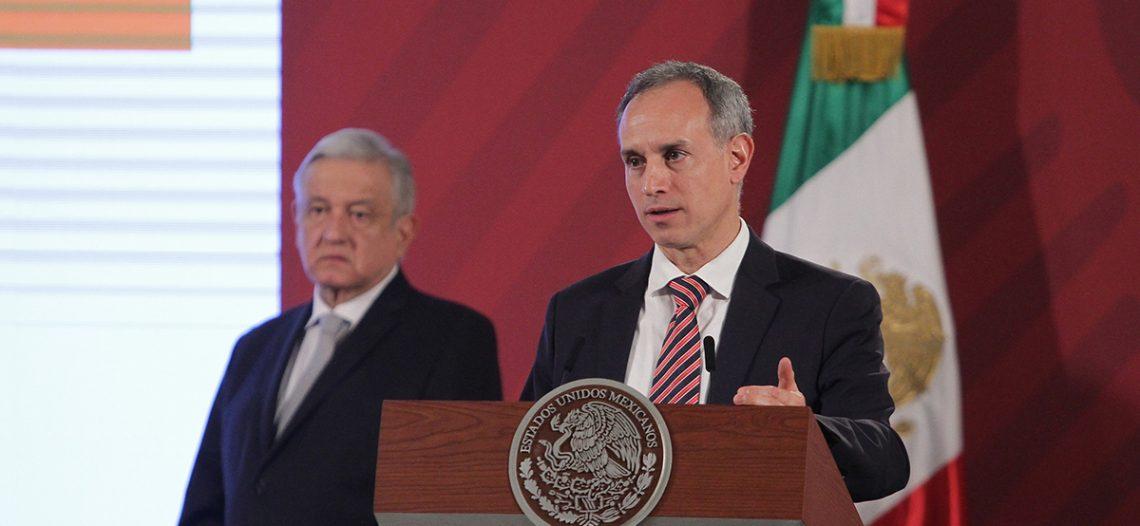 Sociedad mexicana fue quien aplanó la curva epidémica: López-Gatell
