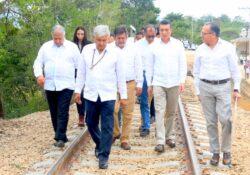 Con obras del Tren Maya reiniciará López Obrador giras
