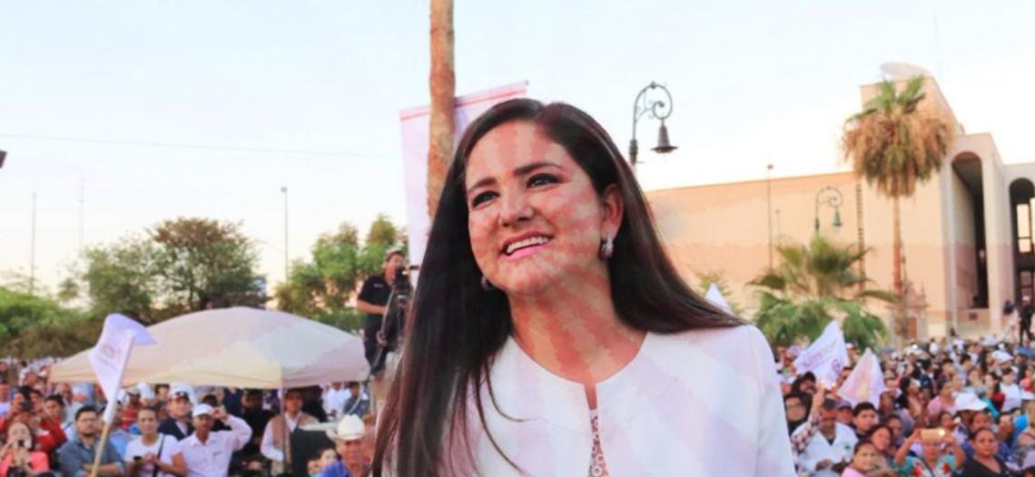 Célida López ya piensa en la reelección