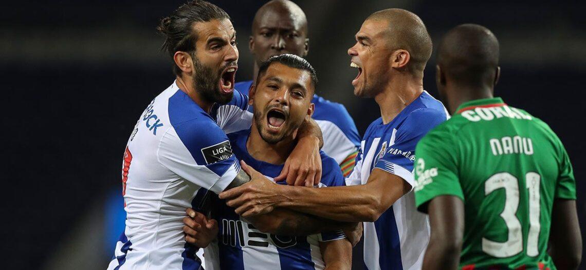 'Tecatito' le da victoria al Porto con golazo