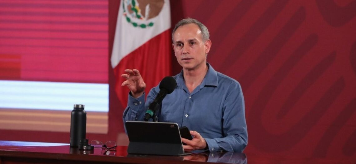 El país tiene alta positividad en covid-19: López-Gatell