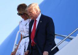 Trump sigue campaña mientras EU suma récords de covid-19