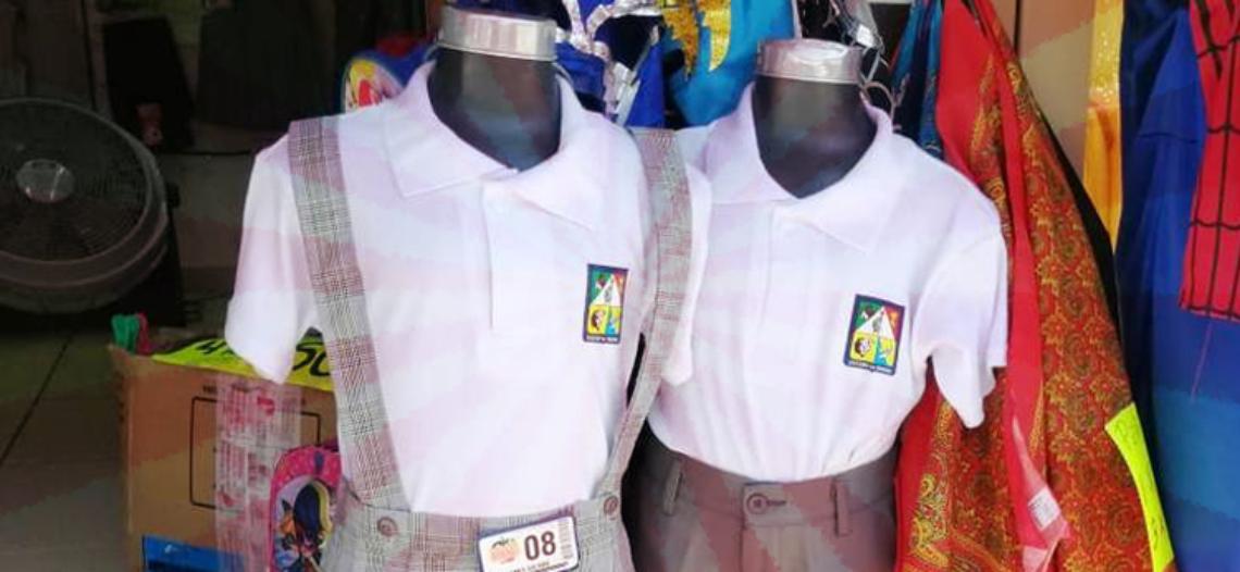 Comerciantes quieren que estudiantes usen uniformes escolares en casa