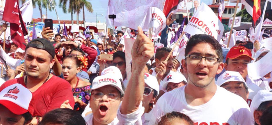 Morena aventaja encuestas por municipio