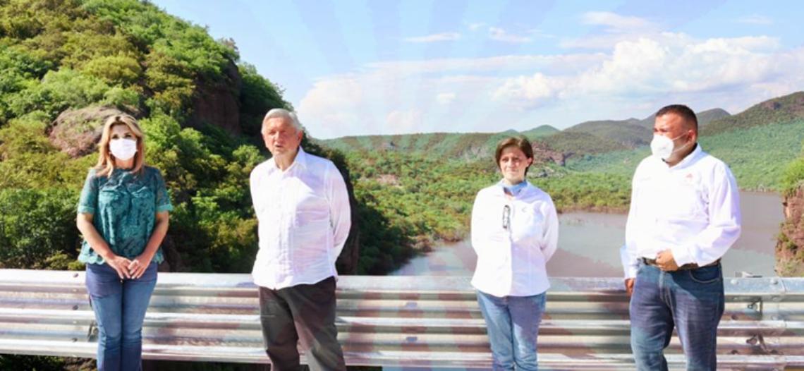 Le fallan organizadores de su gira en Sonora al Presidente