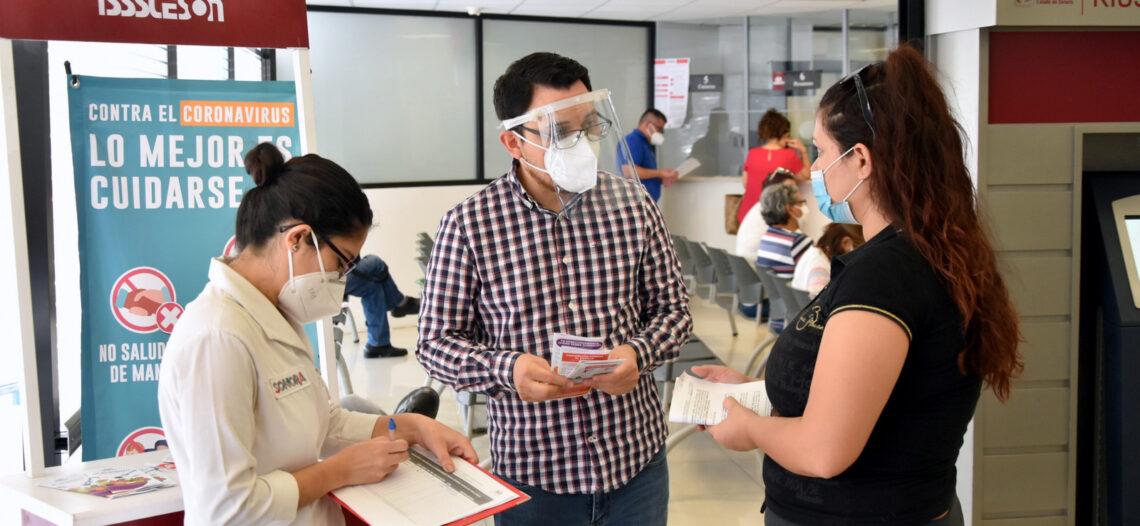 Refuerza Isssteson información de medidas de sanidad ante COVID-19