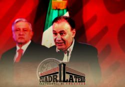 AMLO destapa a Durazo como candidato a gobernador para Sonora