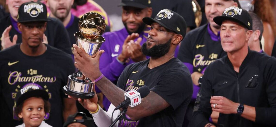 LeBron James logra su cuarto MVP en Finales