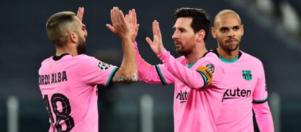 Barcelona cura sus heridas con victoria de visita ante la Juventus