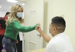 Supervisa Gobernadora equipamiento de centro de salud en Benito Juárez