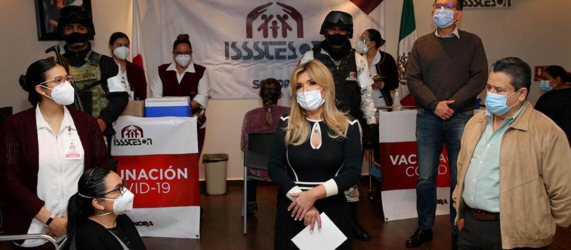 Anuncia Gobernadora acciones para adquirir vacunas contra COVID-19