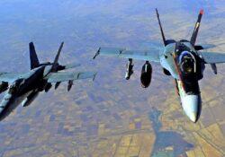 EU bombardea objetivos en Siria; primer ataque de Biden
