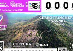 Destaca riqueza cultural de Sonora en billete de la Lotería Nacional