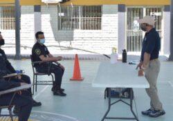 Imparte Isspe Sonora entrenamiento a oficiales de Servicio de Protección Federal