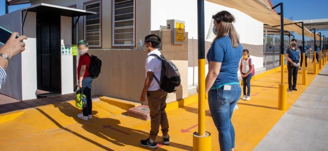 Activan modelo Anticipa Educando Sonora en 2 escuelas