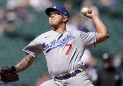 'Joyita' de Julio Urías en victoria de los Dodgers