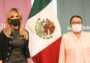 Se reúne Gobernadora con Secretaria de Seguridad y Protección Ciudadana en México