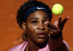 Le amargan su partido 1000 a Serena Williams