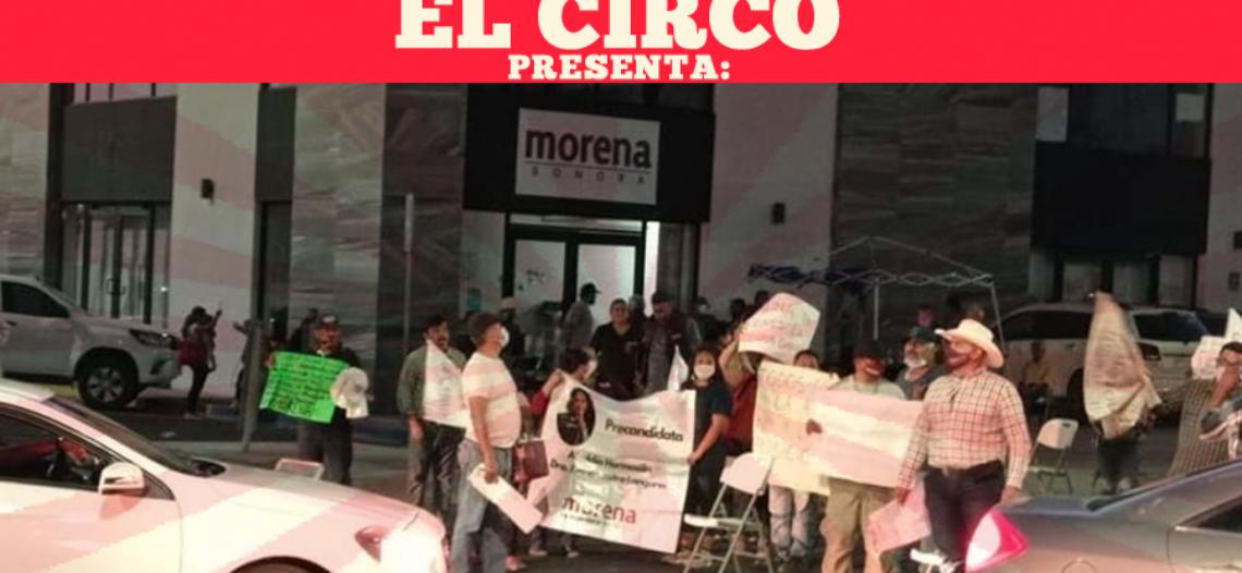 Broncas internas en Morena, afectan campañas