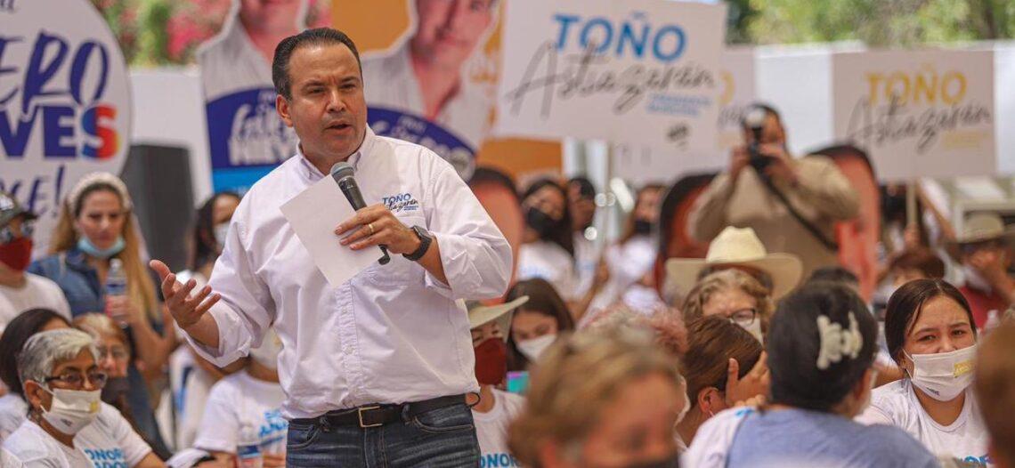 Registra Antonio Astiazarán ventaja en PREP con 38.56% de votos