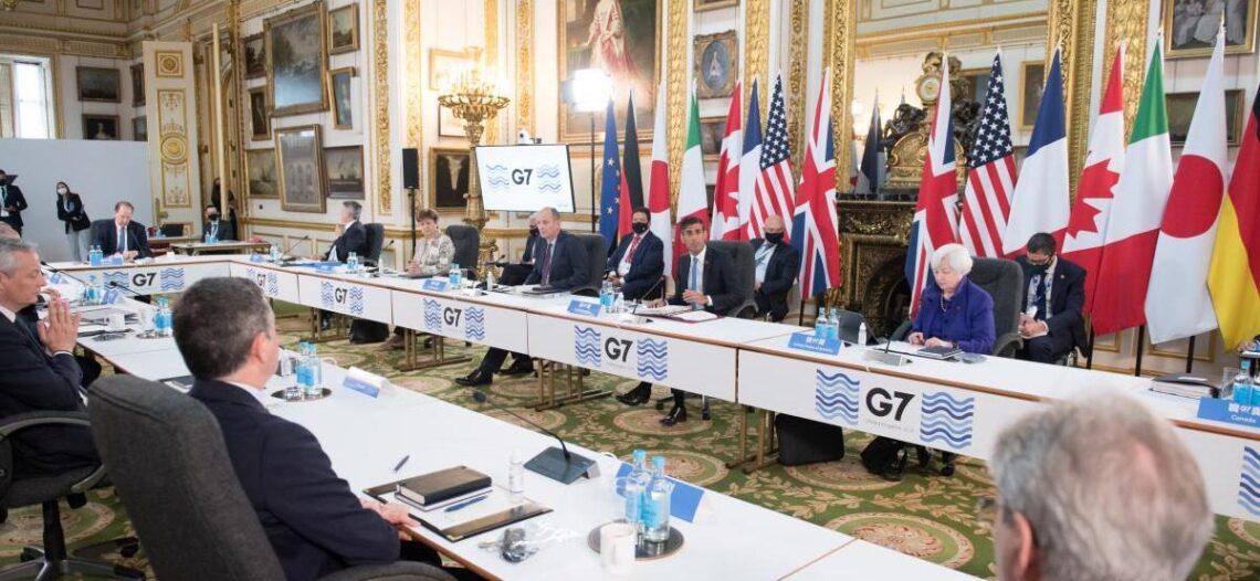 Acuerda G7 que gigantes tecnológicos paguen impuestos